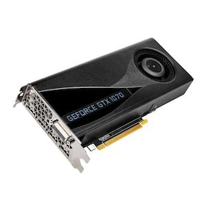 NVIDIA GeForce® GTX 1070, 8 GB GDDR5, 256 Bit, Nvidia G-Sync, VR Ready, DirectX 12, OpenGL 4.5, Grafikkarte