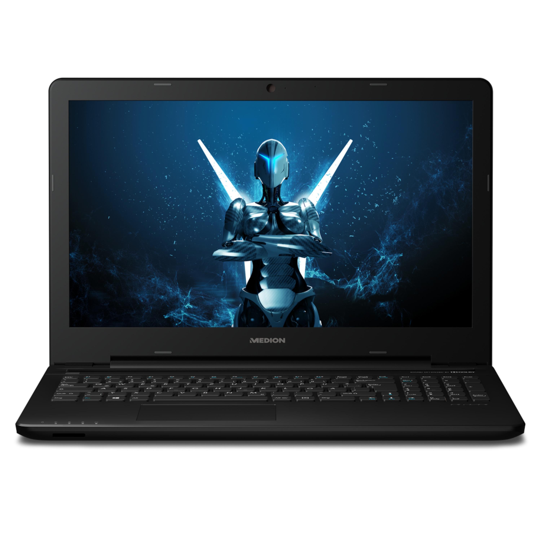 MEDION® ERAZER® P6661, Intel® Core™ i5-6200U, Windows10Home, 39,6 cm (15,6) FHD Display, GTX 950M, 128 GB SSD, 16 GB RAM, Multimedia Notebook (B-Ware)