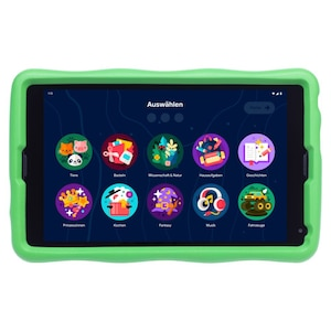 MEDION® Tablette pour enfants LIFETAB® E10440, écran HD de 25,7 cm (10,1 ) | système d'exploitation Android ™ 10 | mémoire de 32 Go | 3 Go de RAM | processeur quadricœur | Google Kids Space | housse de protection incluse