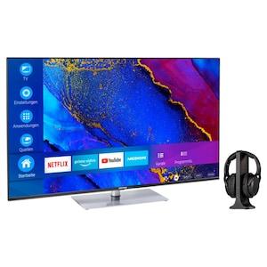 MEDION® BundelDEAL ! LIFE® X15061 50 inch Ultra HD-TV & E62003 Koptelefoon