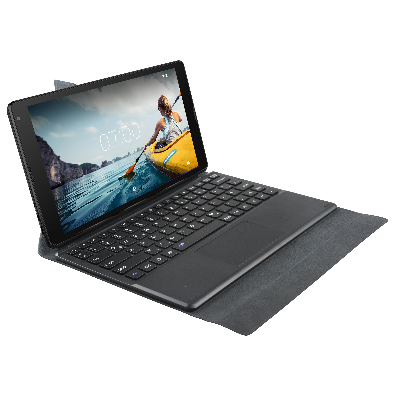 MEDION® Multimode Case MD 61079 mit integrierter Tastatur und Touchpad, PU Schutzcover, passend für LIFETAB E10511