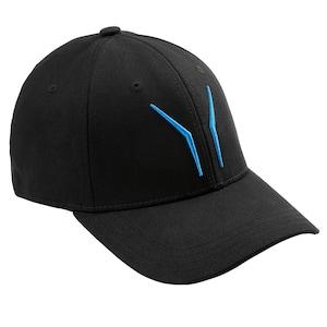 ERAZER® Basecap MD 87833, mit aufgestickten blauen ERAZER Wings vorne und ERAZER Schriftzug auf der Rückseite - Größe L/XL