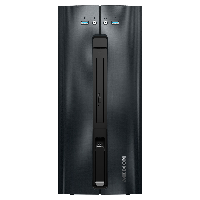 MEDION® AKOYA® P5602, AMD Ryzen™ 5 2600, Windows10Home, GTX 1650, 256 GB SSD, 1 TB HDD, 8 GB RAM, Performance PC (B-Ware)