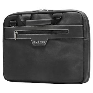 EVERKI Zakelijke laptoptas, voor apparaten tot 14,1'', memoryfoam bescherming, apart voorvak, extreem slank design