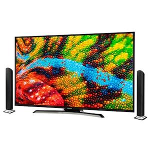 MEDION® LIFE® P14040 Smart-TV inkl. Soundbar E64058, 98 cm (39'') Full HD Display, DTS Sound, PVR ready, Bluetooth®, Netflix, Amazon Prime Video - SPARPAKET