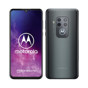 MOTOROLA One Zoom Smartphone, 16,25 cm (6,4'') Full HD+ Display, Android™ 9, 128 GB Speicher, Octa-Core-Prozessor, Dual-SIM, LTE