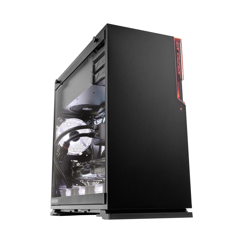 MEDION ERAZER® X57001, AMD Ryzen™ 5 3600X, Windows 10 Home, RX 5700, 512 GB PCIe SSD, 16 GB RAM, High-End Gaming PC