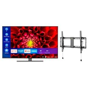 MEDION® LIFE® S14310 108 cm (43'') Ultra HD Smart-TV + GOOBAY Pro TILT (L) Wandhalterung - ARTIKELSET