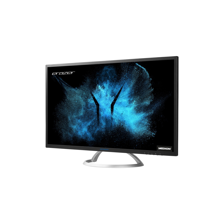 MEDION® ERAZER® X58222, Widescreen Monitor,  80cm (31,5''), QHD Display, HDMI® Anschluss und Displayport