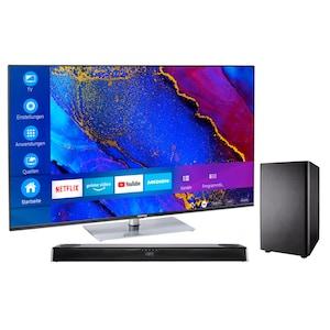 MEDION® LIFE® X16564 163,9 cm (65'') Ultra HD Smart-TV + S61388 Dolby Atmos Soundbar mit Subwoofer & Bluetooth - ARTIKELSET