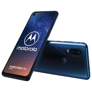 MOTOROLA One Vision Smartphone, 16 cm (6,3) Full HD+ Display, Android™ 9, 128 GB Speicher, Octa-Core-Prozessor, Dual-SIM, LTE