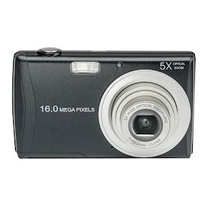 """MEDION® LIFE® E44050 16.0 MP Digitalkamera, Großes 6,86 cm/2,7"""" LC-Display, 5-fach optischer Zoom, 26 mm Weitwinkel, Motivautomatik, Lächelerkennung"""