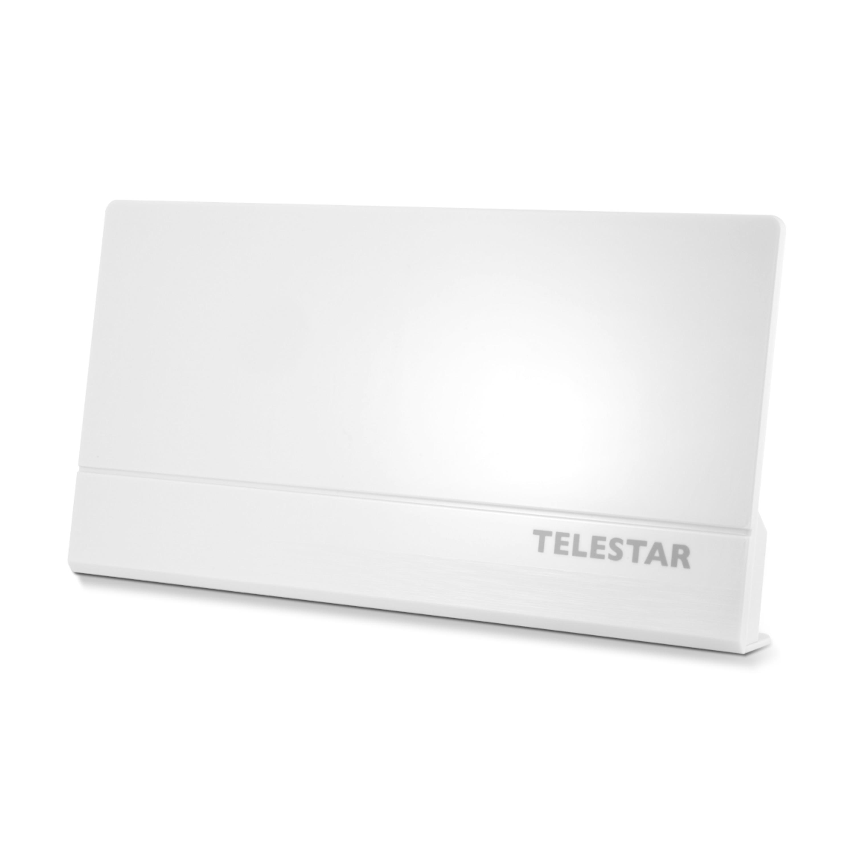 TELESTAR Antenna 9 LTE, Aktive DVB-T/DVB-T2 Antenne, H.265/HEVC Standard, HDTV, FullHD, LTE Filter, Verstärkung bis zu 45 dB