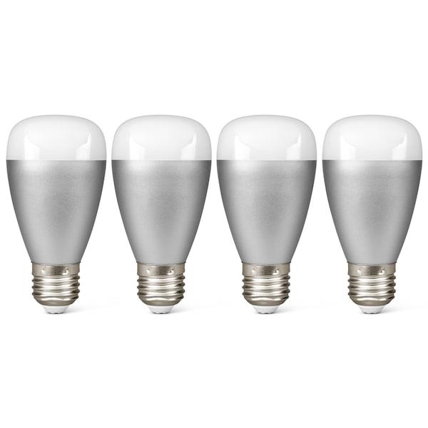 MEDION® 4 x RGB LED Leuchte P85716, Smart Home, Alle Farben dank RGB, Lichtdimmer, 50.000 Stunden Nutzungsdauer (RGB) ARTIKELSET
