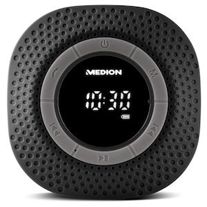 MEDION® LIFE® E66554 Duschradio mit Bluetooth®-Funktion, Bluetooth® 4.0, PLL-UKW Radio, Freisprecheinrichtung, Saugnapf
