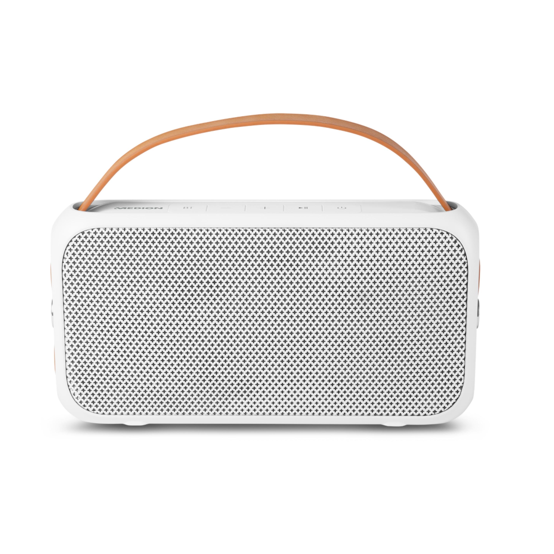 MEDION® LIFE® E65555, Bluetooth® Lautsprecher, Bluetooth® 4.0, Spritzwassergeschützt (IPX4), 2 x 10 W RMS, AUX, USB-Anschluss