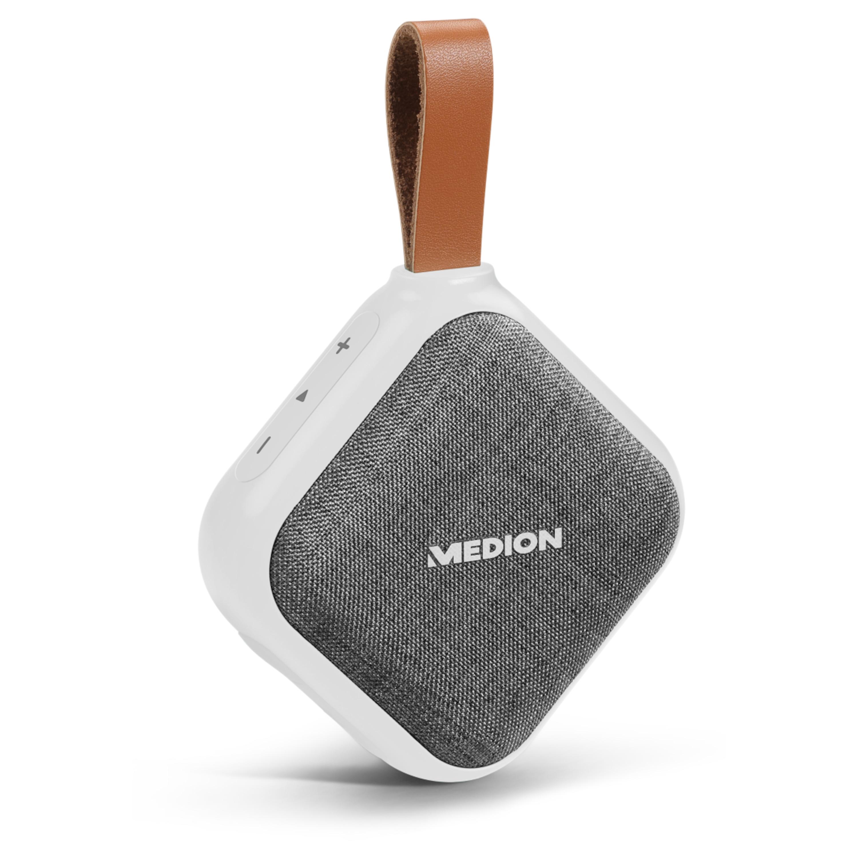 MEDION® LIFE E65242 Bluetooth® Lautsprecher, Bluetooth® 4.1, Freisprechfunktion, Strahlwasserschutz IPX5, 30 W, Akku