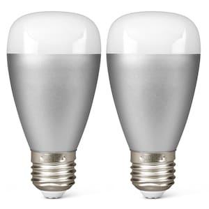 MEDION® 2 x RGB LED Leuchte P85716, Smart Home, Alle Farben dank RGB, Lichtdimmer, 50.000 Stunden Nutzungsdauer (RGB) - ARTIKELSET