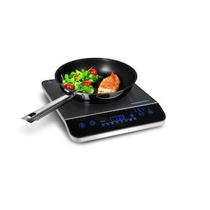 MEDION® Inductie kookplaat MD 17595 | Touch bediening | Tot 240°C | Veilig | Temperatuurstanden | Instelbaar