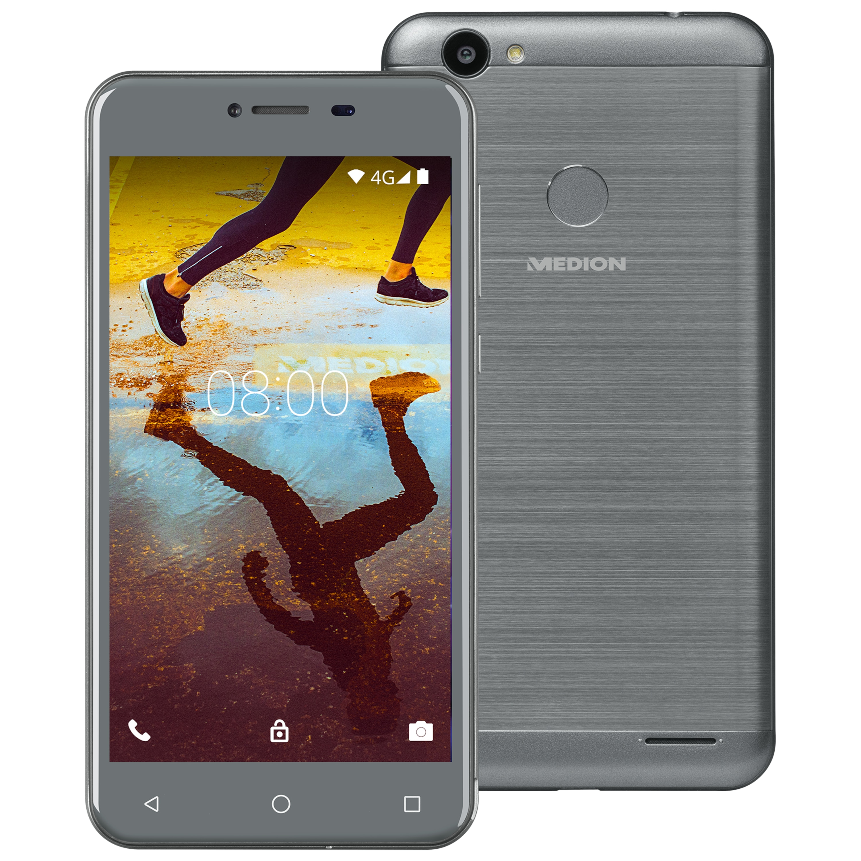 MEDION® LIFE® E5008 Smartphone, 12,7 cm (5) HD Display, Android™ 7.0, 34 GB Speicher, Quad-Core-Prozessor