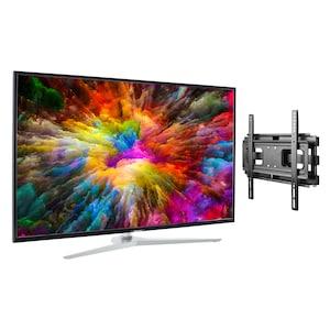MEDION® LIFE® X14330 Smart-TV, 108 cm (43'') Ultra HD Display + Wandhalterung - ARTIKELSET