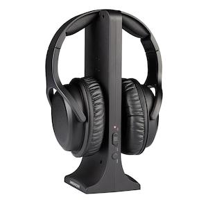 MEDION® LIFE E62003 Draadloze hoofdtelefoon | Digitaal geluid | Hoog draagcomfort | Incl. oplaadstation | Maximaal 9 uur muziek afspelen