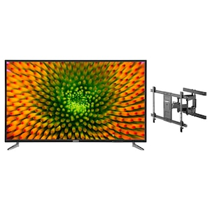 MEDION® LIFE® P16512 163,8 cm (65'') Ultra HD TV + GOOBAY Pro FULLMOTION (L) Wandhalterung - ARTIKELSET