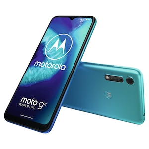 MOTOROLA moto g8 power lite Smartphone, 16,51 cm (6,5) HD+ Display, Android™ 10, 64 GB Speicher, Octa- Core-Prozessor, Dual-SIM, Bluetooth® 4.2