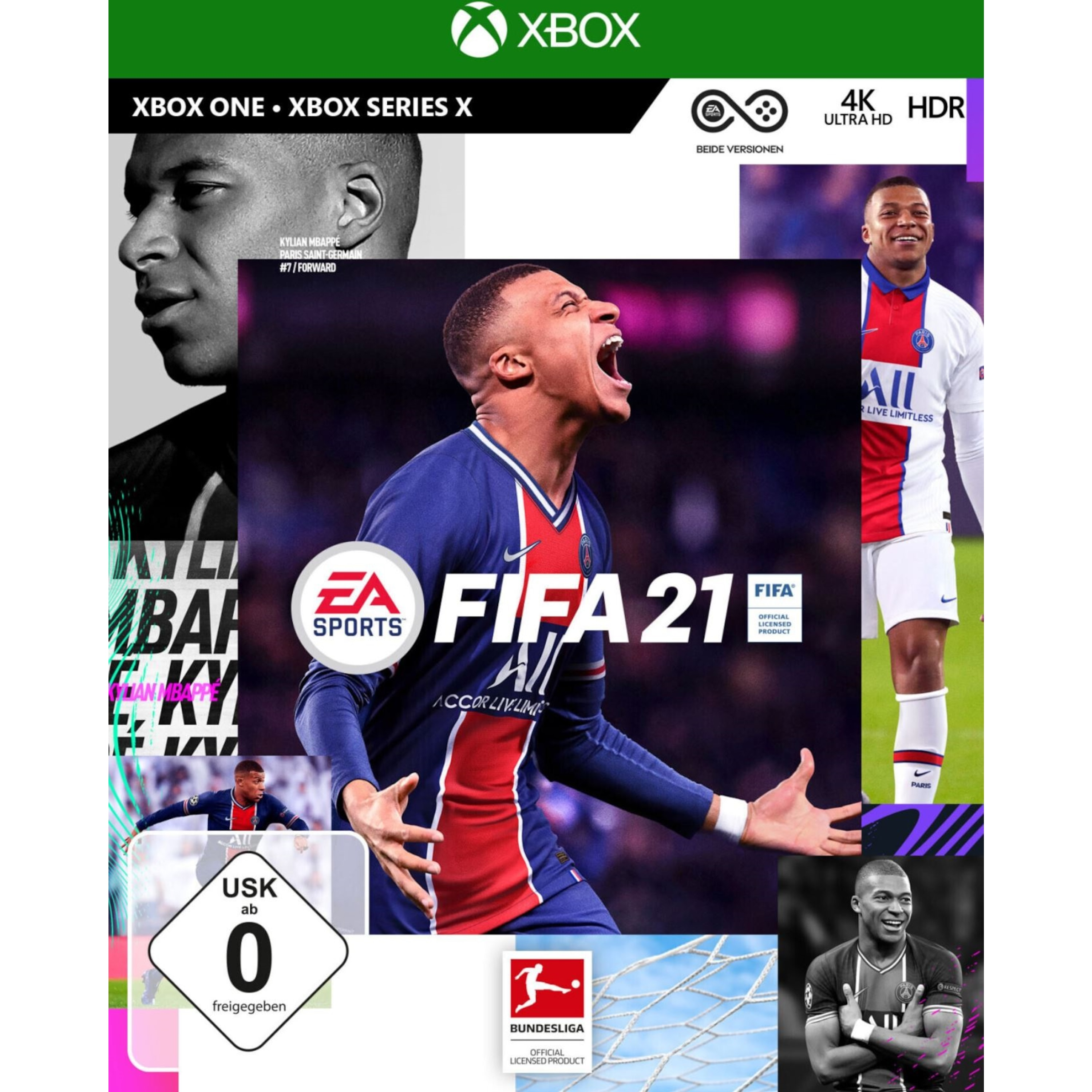 FIFA-21-Xbox-One-Standard-Edition-CD-Videospiel-DISC-EA-Sports-Series-X-Upgrade