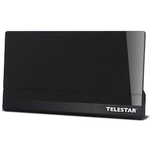 TELESTAR ANTENNA 9 LTE aktive Antenne schwarz, geeignet für DVB-T, DVB-T HD und DVB-T2, Full HD