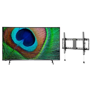 MEDION® LIFE® X14330 108 cm (43'') Ultra HD Android TV + GOOBAY Pro TILT (L) Wandhalterung - ARTIKELSET