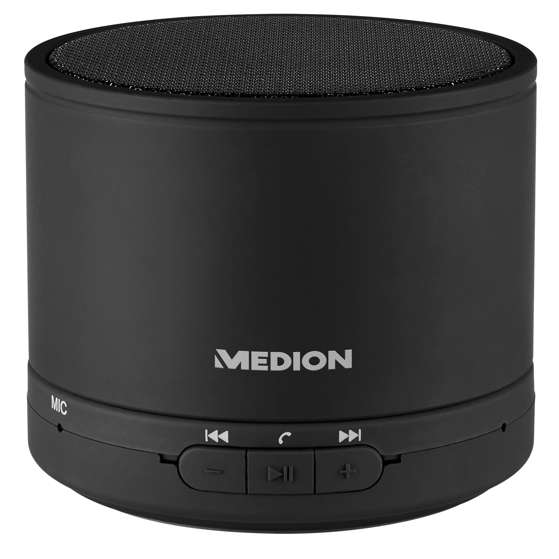 MEDION® LIFE® E61500 Bluetooth® Lautsprecher, LED-Anzeige, 2,8 W RMS, Bluetooth® 4.1, Freisprechfunktion, bis zu 15 Stunden Akkulaufzeit