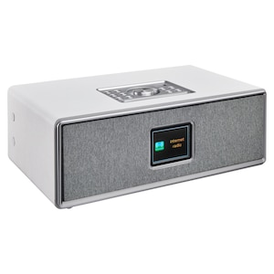 MEDION® P85700 All-in-One Audio-System, 7,1 cm (2,8'') TFT-Display, Homestyle Wandhalterung, Internet- & DAB+, Bluetooth®, Nachtlichtfunktion und USB-Anschluss, 2 x 10 W RMS Ausgangsleistung
