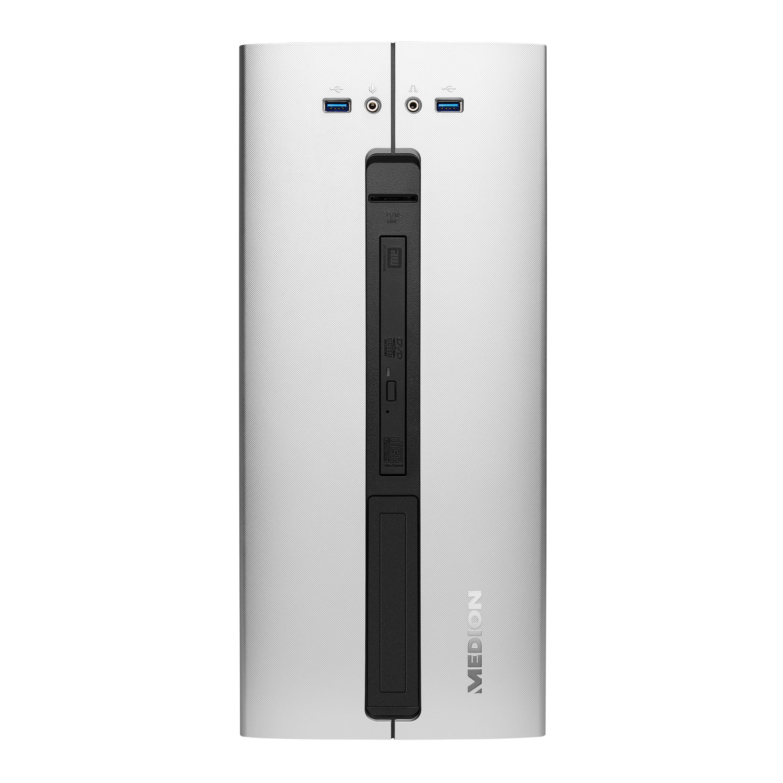 MEDION® MEDION® AKOYA® P42005, Intel® Core™ i3-8100, Windows10Pro, 256 GB PCIe SSD, 8 GB DDR4 RAM, Multimedia PC