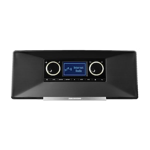 MEDION® LIFE® P85035 WLAN Internet-Radio, 6,1 cm (2,4'') STN-Display, DAB+ & UKW Radio-Tuner, LifeStream App, DLNA-/UPnP-Kompatibilität, Spotify®