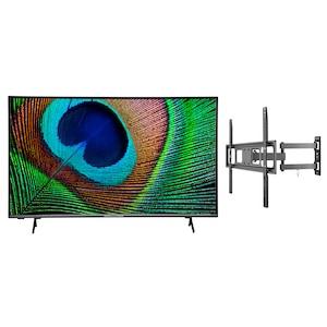 MEDION® LIFE® X15031 125,7 cm (50'') Ultra HD Android TV + GOOBAY Basic FULLMOTION (L) Wandhalterung - ARTIKELSET
