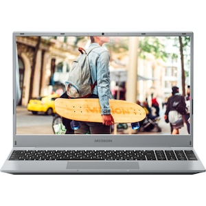 MEDION® AKOYA® E15407, Intel® Core™ i3-1005G1, Windows 10 Home, 39,6 cm (15,6'') FHD Display, 512 GB SSD, 8 GB RAM, Notebook
