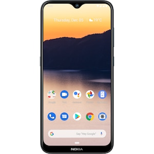 NOKIA 2.3, Mobiltelefon mit 15,74cm (6,2'') HD+ Display, 32 GB Speicher, LTE fähig, Bluetooth, Android 9