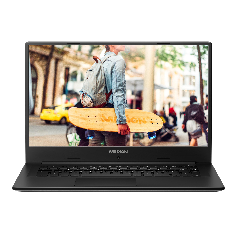 MEDION® AKOYA® E6246, Intel® Pentium® Silver N5000, Windows10Home, 39,5 cm (15,6'') FHD Display, 256 GB SSD, 4 GB RAM, Notebook