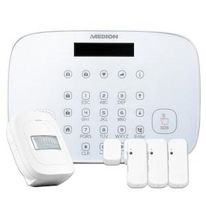 MEDION® Smart Home Sicherheit-Set P85773 (MD 90773), Zuverlässige Sicherheit im ganzen Haus