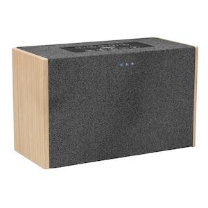 MEDION® LIFE® P61142 WLAN Lautsprecher mit Amazon Alexa, WLAN, Bluetooth®, Multiroom, Party-Mode, DLNA, kabellose Musikübertragung, 2 x 10 W RMS (B-Ware)