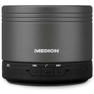 MEDION® LIFE® E61037 Bluetooth® Lautsprecher, kabellose Musikübertragung via Bluetooth® 4.1, Freisprechfunktion mit kristallklarer Gesprächsführung, integrierter Akku