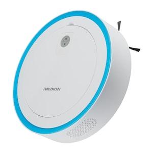MEDION® Robotstofzuiger MD 18861 | Intelligente lasernavigatie | App & Alexa besturing | Diverse sensoren| 120 minuten looptijd | Schoonmaak tijden instellen