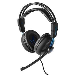 MEDION® ERAZER® Mage P10, Gaming Headset mit überragender Klang und Lautsprecherqualität, leistungsstarker Bass, Mikrofon, Lautstärkeregelung über Kabelfernbedienung