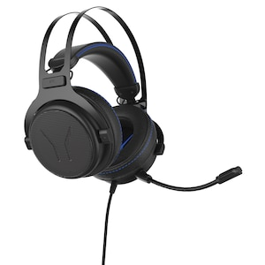 MEDION® ERAZER® X83017 7.1 Surround Gaming Headset mit High-Performance-USB-Adapter, Noise-Reduction, kompatibel mit Playstation 4, Xbox One, PC, Mac