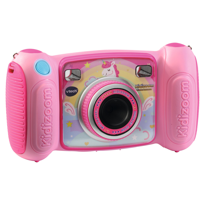 VTECH S41010 Kidizoom Kinder-Digitalkamera, großes 1,8'' Farbdisplay, 2.0 Megapixel Sensor, robustes Gehäuse, viele lustige Fotoeffekte und Rahmen