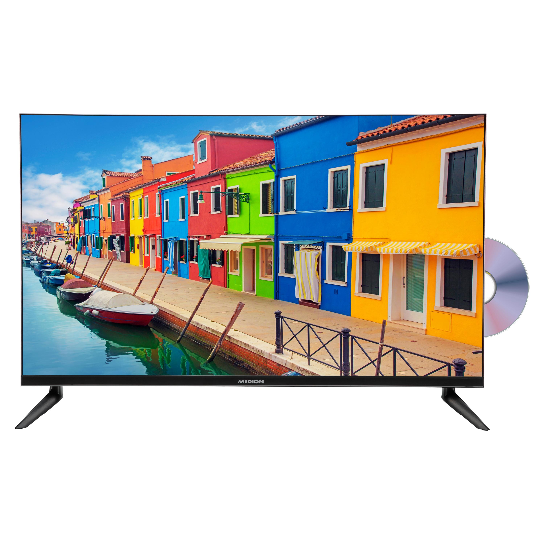 MEDION® LIFE® E13212 TV, 80 cm (31,5''), HD Triple Tuner, integrierter DVD-Player, integrierter Mediaplayer, CI+   (B-Ware)