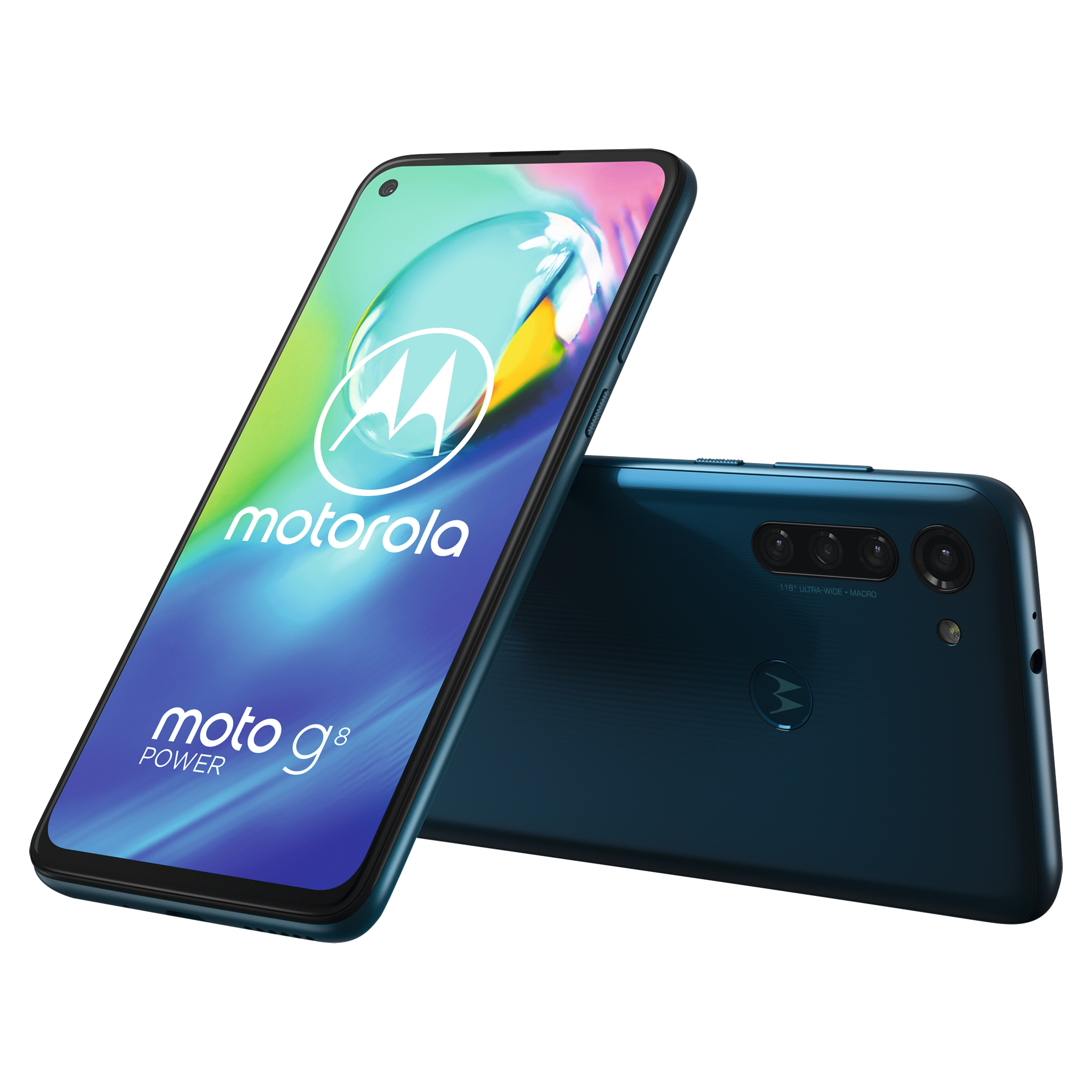 MOTOROLA moto g8 power Smartphone, 16,25 cm (6,4) Full-HD+ Display, Android™ 10, 64 GB Speicher, Octa- Core-Prozessor, Dual-SIM, Bluetooth® 5.0