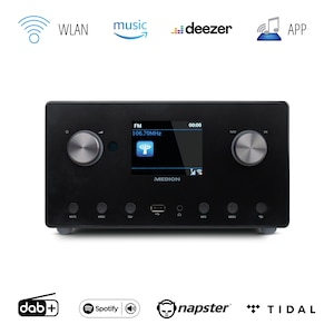 MEDION® LIFE® P85295 Stereo Internetradio, großes 8,1 cm (3
