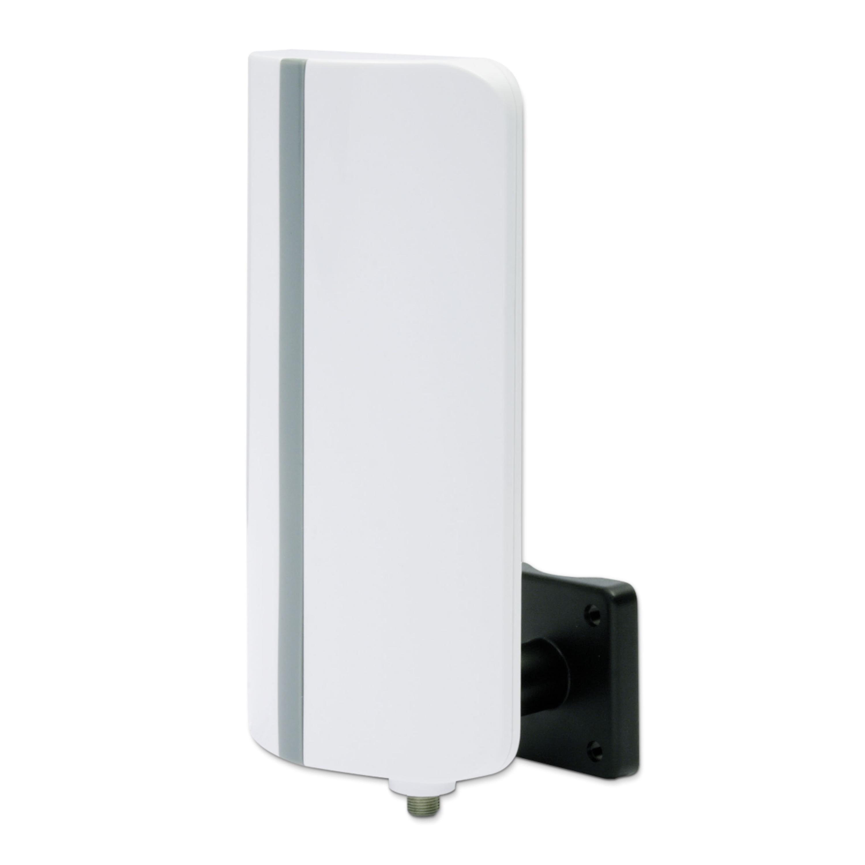 TELESTAR Digitalbox Digit T-3, aktive Aussenantenne, DVB-T2 HD/DVB-T, UKW, DAB+, FullHD, Verstärkung: 20 dB, Wand- oder Mastbefestigung